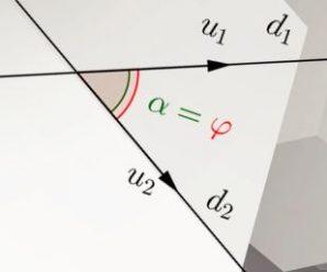 Cách xác định góc giữa 2 đường thẳng trong không gian