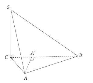 hình chiếu vuông góc