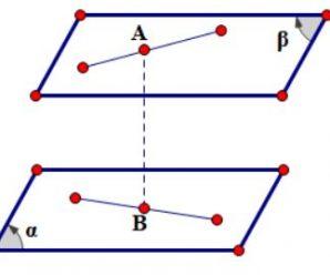 Công thức tính khoảng cách giữa 2 mặt phẳng song song