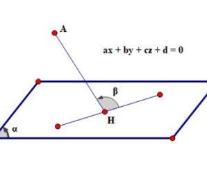 Các dạng phương trình mặt phẳng trong không gian Oxyz