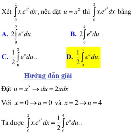 Phương pháp đổi biến số