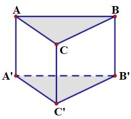 Công thức tính thể tích khối lăng trụ tam giác đều