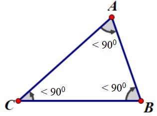 Tam giác nhọn