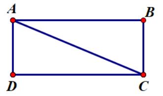 Đường chéo hình chữ nhật
