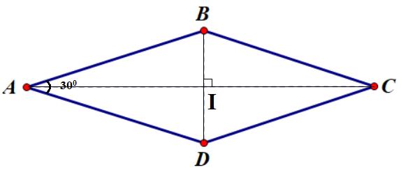 Đường chéo hình thoi
