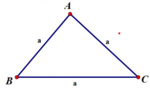 Chu vi tam giác đều