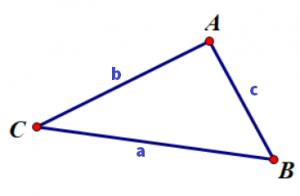 Chu vi tam giác thường