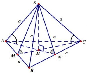 Hệ thống các công thức hình học 12 từ căn bản tới nâng cao