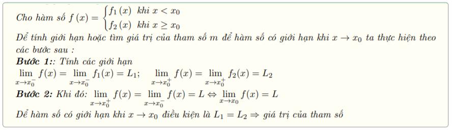 bài tập giới hạn hàm số lớp 11