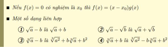 cách tính giới hạn hàm số