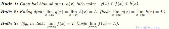 tính giới hạn hàm số