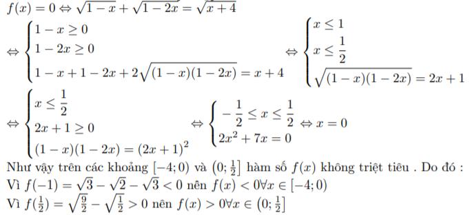 tính liên tục của hàm số
