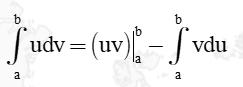 công thức tích phân từng phần