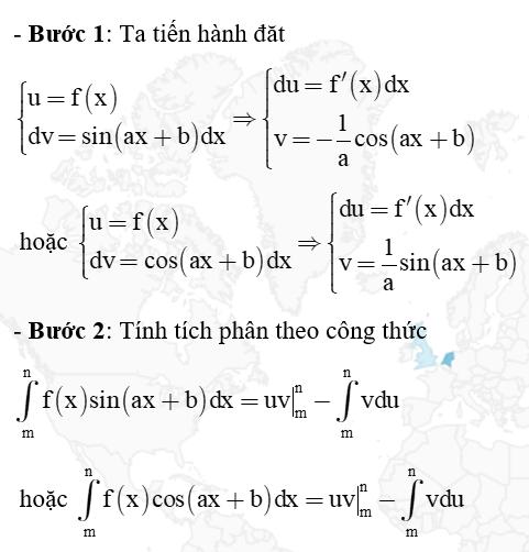 tính tích phân từng phần
