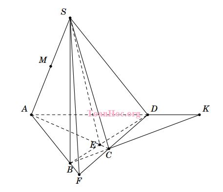 bài tập giao tuyến của hai mặt phẳng