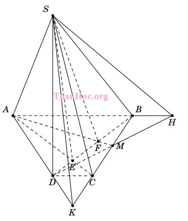 giao tuyến của hai mặt phẳng