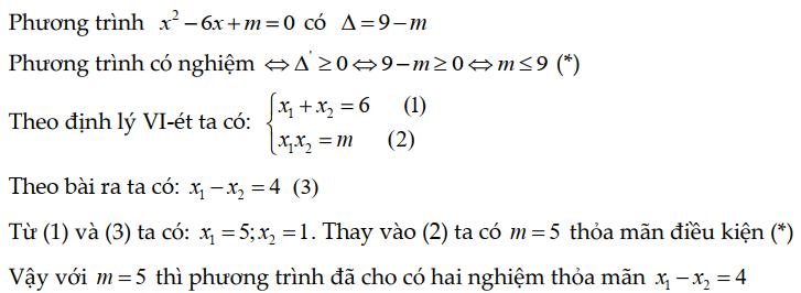bài tập định lý viet