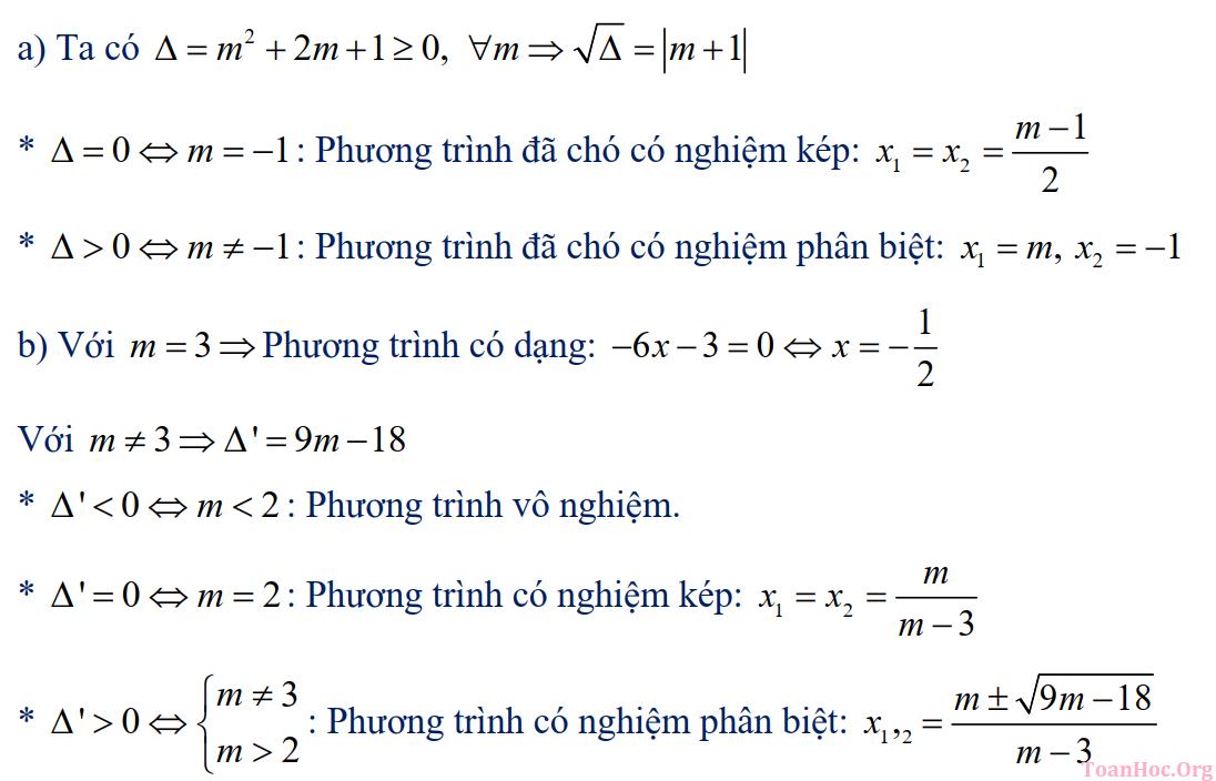 phương trình bậc 2