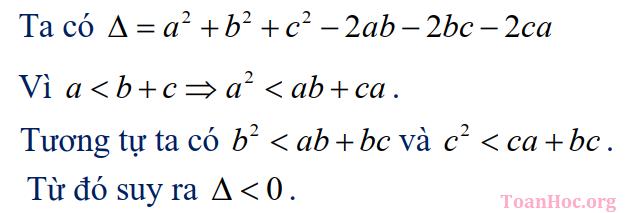nghiệm của phương trình bậc 2