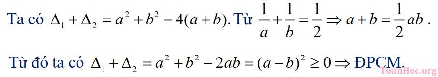 phương trình bậc hai một ẩn
