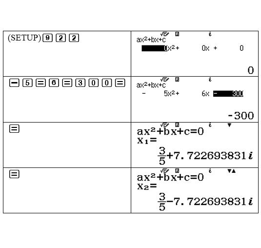 Hướng dẫn bấm máy tính casio giải phương trình bậc 2